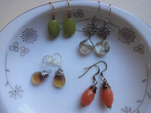 Load image into Gallery viewer, Short Gemstone Earrings, Pick Your Favorite