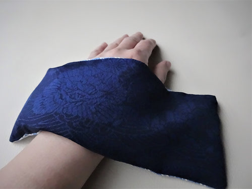 Dark Blue Eye Pillow, Hot and Cool Eye Pillow