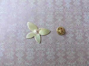 Butterfly Brooch Pin, Gold Butterfly Hat Pin, Lapel Pin.