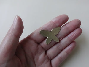 Butterfly Brooch Pin, Gold Butterfly Hat Pin, Lapel Pin