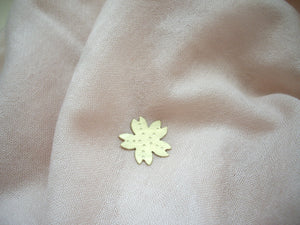 Sakura Pin Brooch, Cherry Blossom Hat Pin, Shawl Pin