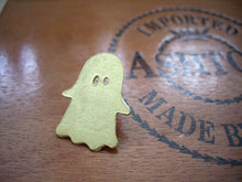Load image into Gallery viewer, Halloween Ghost Brooch, Cute Shawl Pin, Pin For Your Sweater and Scarf