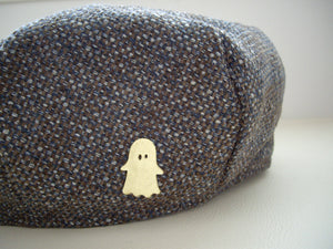 Halloween Ghost Brooch, Cute Shawl Pin, Pin For Your Sweater and Scarf.