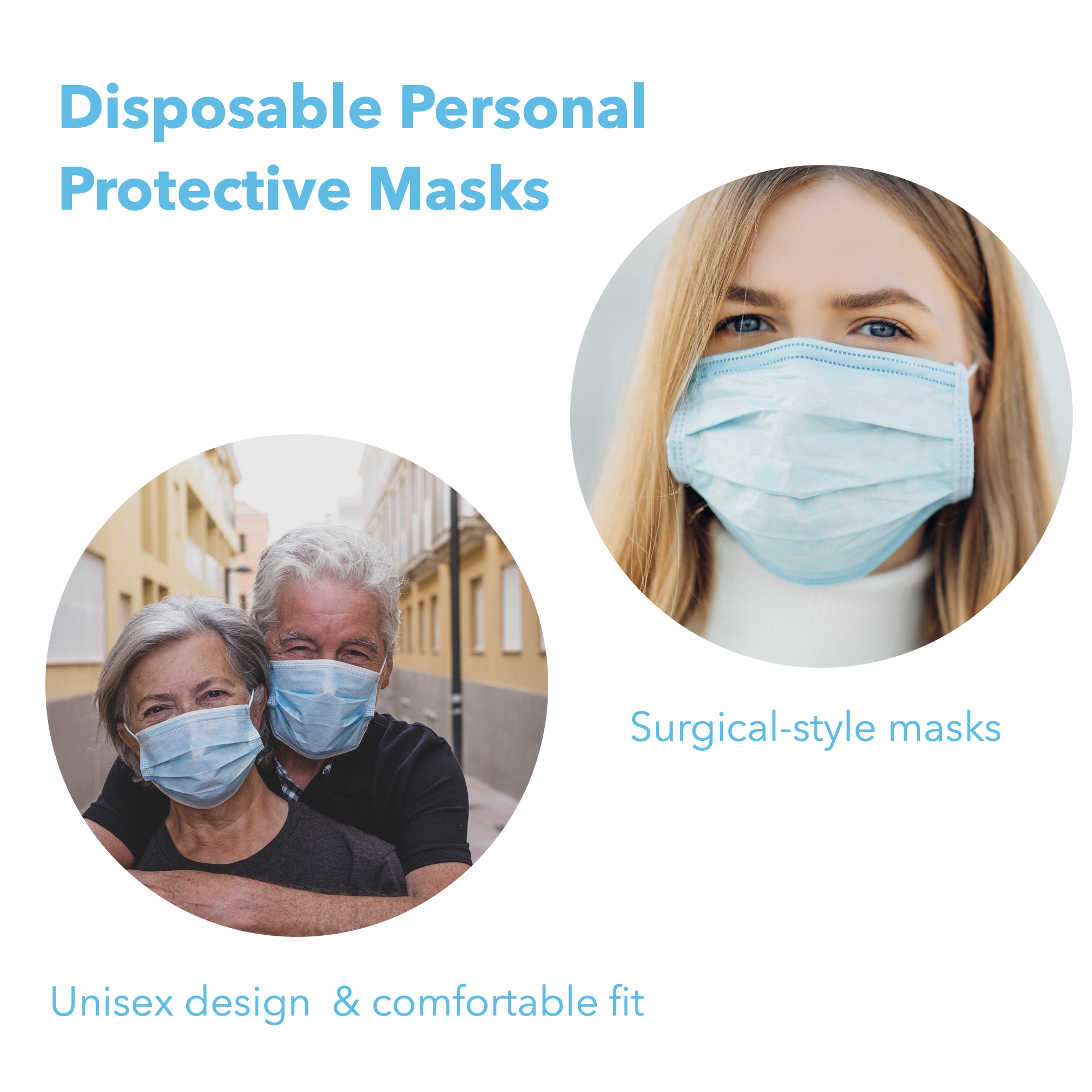 Box of Disposable Masks - 50 PCS
