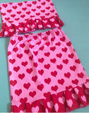 Valentine skirt co ord