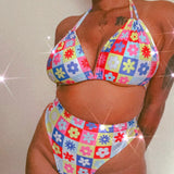 Floral Groove bikini set ( more colour options)