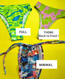Floral Groove bikini bottoms ( more colour options)