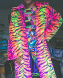 Carnival tiger jacket ( choose your length)