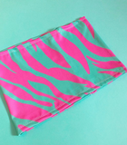 Electric zebra bandeau (6 COLOURS!)