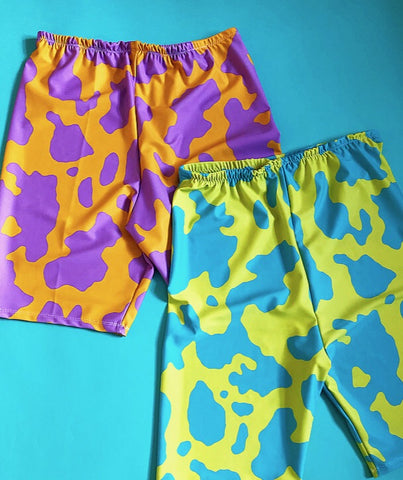 Crazy cow cycle shorts (MORE COLOURS!)