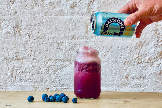 BLUEBERRY LEMONADE MOCKTAIL