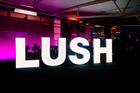 LUSH HAD A BATH BOMB FESTIVAL AND WE WERE INVITED