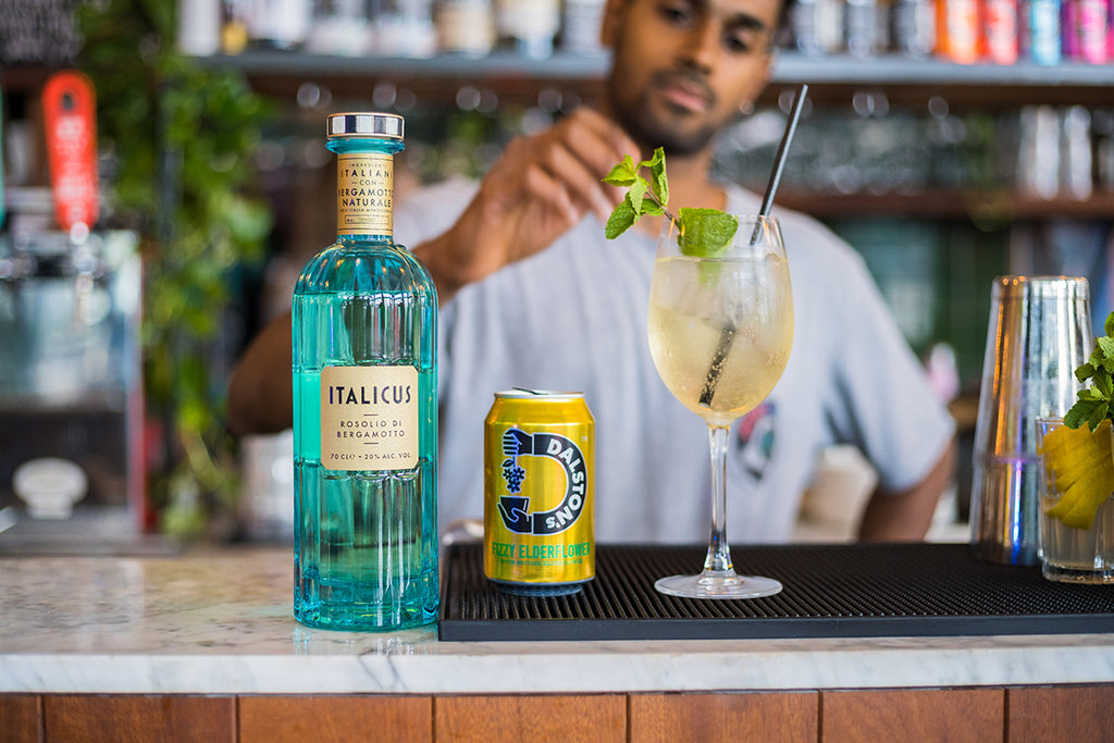 Dalston's Elderflower Spritz Cocktail