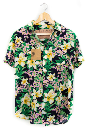 Tropical Fragrance - Orchids II hawaiian shirt