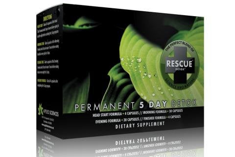 Rescue Detox 5 Day Permanent Cleanser