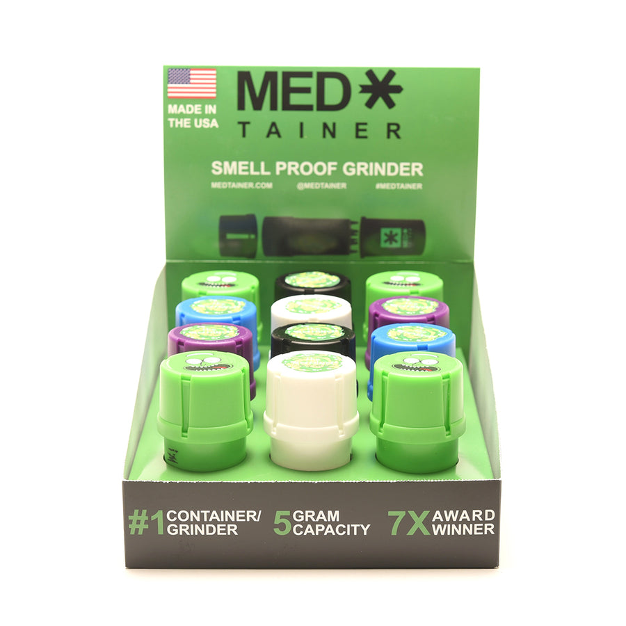 Medtainers Smell Proof Grinders