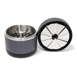 STR8 Flower Mill 4pc 53mm Black/Grey Grinder