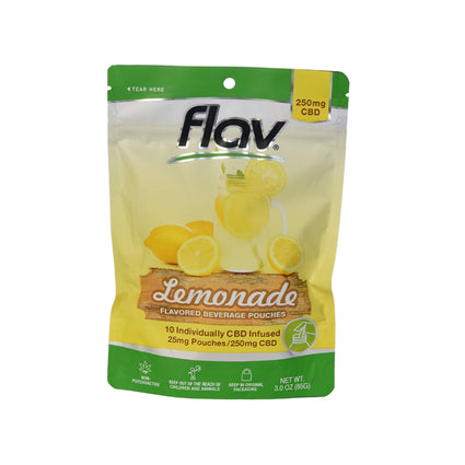 Flav Flavored Beverage Pouches