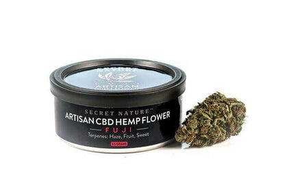 Secret Nature Artisan Hemp Flower Tin 3.5g