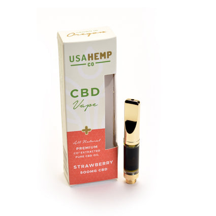 USA Hemp Pre-filled Cartridge 500mg