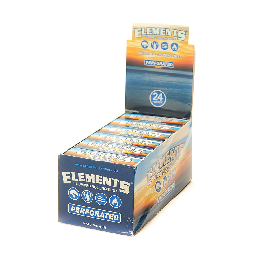 Elements Perforated Gummed Rolling Tips
