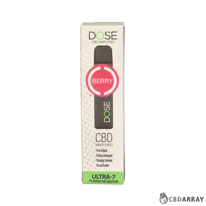 Dose CBD  Disposable Device