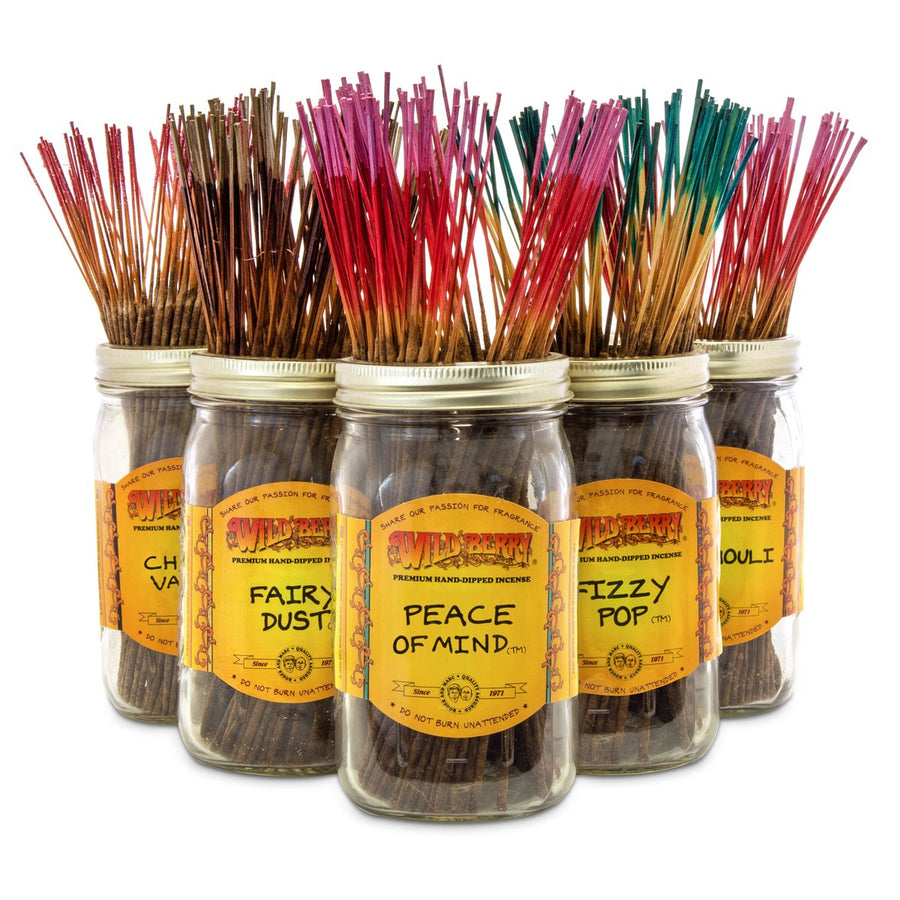 Wild Berry Incense Starter Kit - 18 Fragrances
