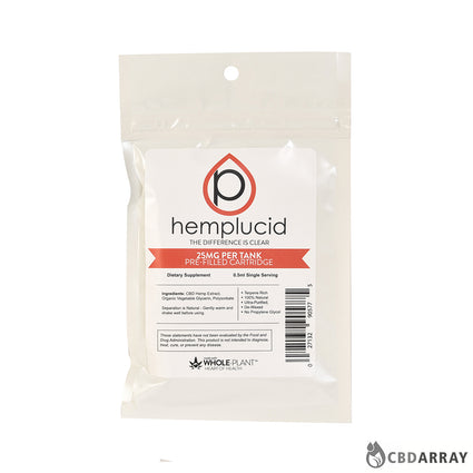 Hemplucid Pre-filled Vape Cartridge