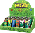 Clipper Lighters Display 24ct