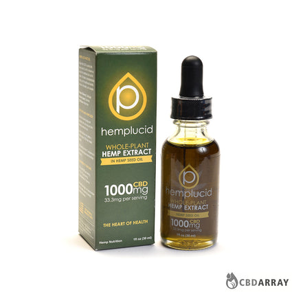 Hemplucid Tincture Hemp Seed Oil 30mL
