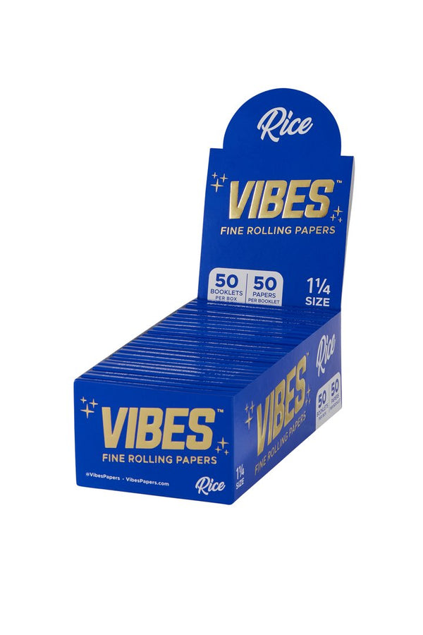 Vibes Rolling Papers 1 1/4  50 Packs Per Box