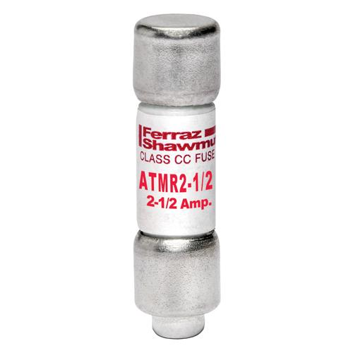 ATMR2-1/2 - Fuse Amp-Trap® 600V 2.5A Fast-Acting Class CC ATMR Series
