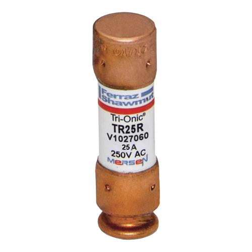 TR25R - Fuse Tri-Onic® 250V 25A Time-Delay Class RK5 TR Series