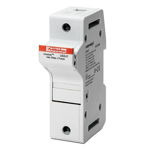 US3J3I - Fuse Holders 600V 30A Class J 3-pole Light Indicator