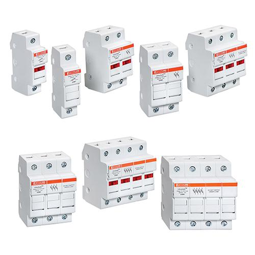 USM3 - Fuse Holders 800V 30A Midget 3-pole No Indicator
