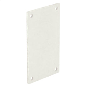 P0604  - Back Panel (JIC B Series) 4.8X2.8 Carbon Steel - White