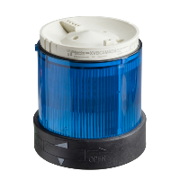 XVBC36 - BLUE INDICATING BANK LENS 250V 10W +OPTIONS