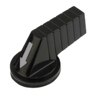 9001B25 - 30MM LONG HANDLE FOR SELECTOR SW BLACK