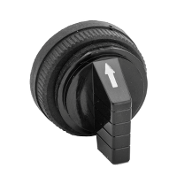 9001B11 - 30MM SHORT HANDLE FOR SELECTOR SW BLACK