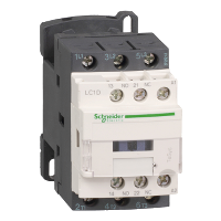 LC1D09E7 - CONTACTOR 600VAC 9AMP IEC +OPTIONS