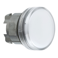 ZB4BV013 - PILOT LIGHT HEAD LED WHITE
