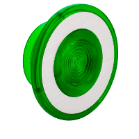 9001G22 - 30MM MUSHROOM FOR ILLUM PB GREEN 41MM