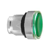 ZB4BH033 - FLUSH PUSH ON/PUSH OFF ILLUM FOR LED G