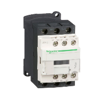 LC1D12BD - CONTACTOR 600VAC 12AMP IEC +OPTIONS