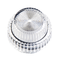 9001C31 - 30MM PLASTIC LENS FOR PILOT LIGHT CLEAR