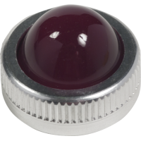 9001R6 - 30MM GLASS LENS FOR PILOT LIGHT RED