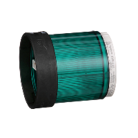XVBC33 - GREEN INDICATING BANK LENS 250V 10W +OPTIONS