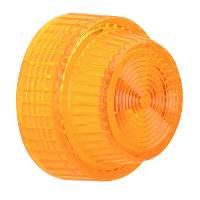 9001A31 - 30MM PLASTIC LENS FOR PILOT LIGHT AMBER
