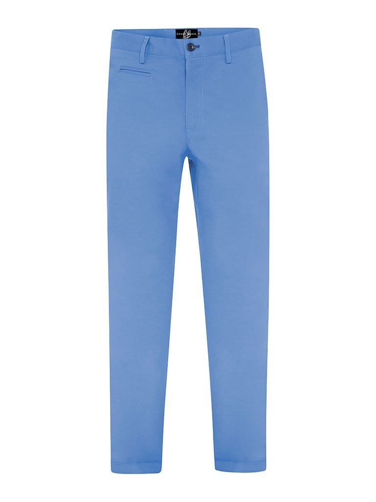 The Steel Blue Chinos