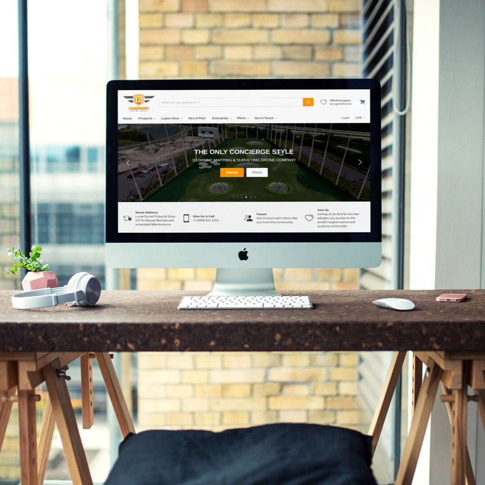 Web Design & Development Amplify Package Website Design DEZERV